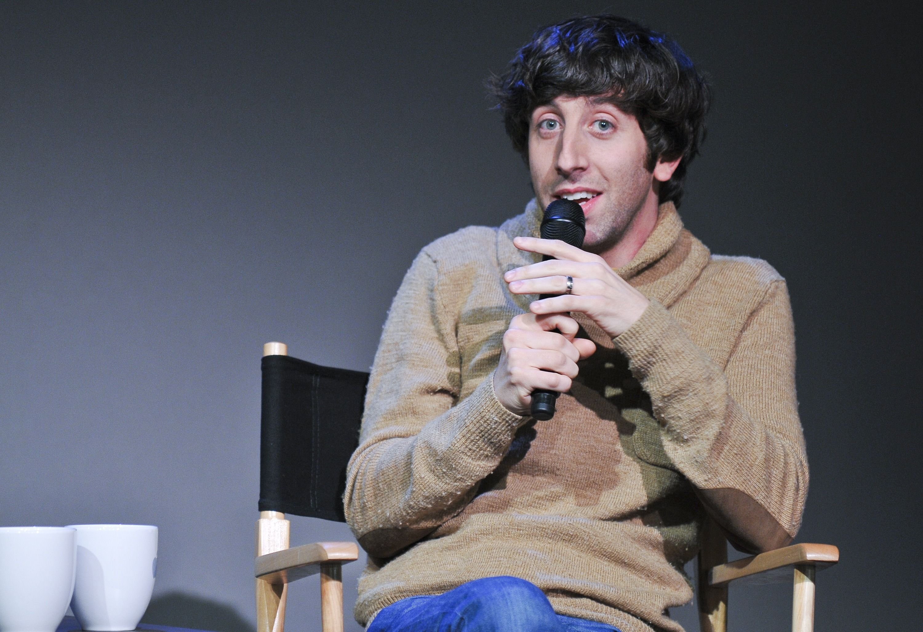 Simon Helberg/Photo:Getty Images