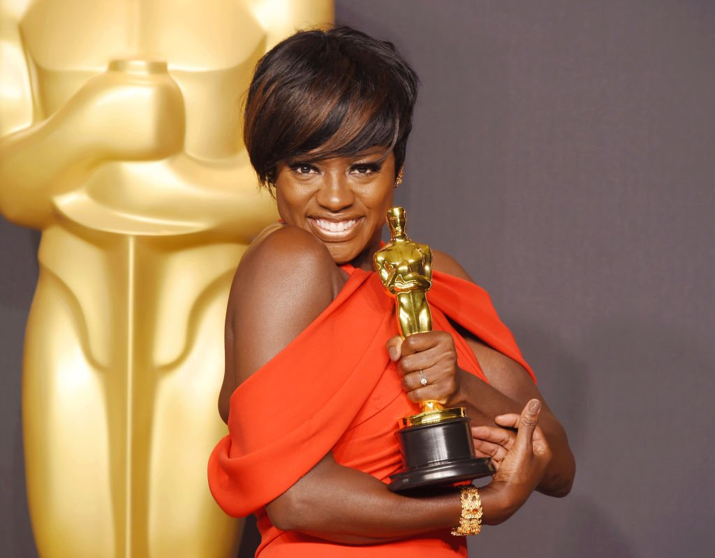 Image Credits: Getty Images / Jeffrey Mayer/WireImage | Actress Viola Davis, winner of the award for Actress in a Supporting Role for 'Fences,' poses in the press room