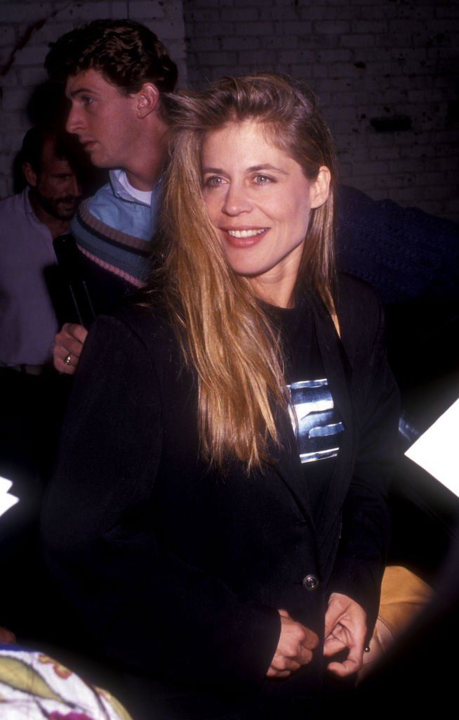 "Image Credits: Getty Images / Albert L. Ortega / WireImage | Linda Hamilton during Linda Hamilton at the Play ""Love Letters"" at Canon Theater in Beverly Hills, CA, United States."