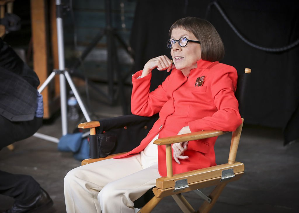 Image Credit: Getty Images / Actress and Oscar winner, Linda Hunt poses for a photograph during an interview.
