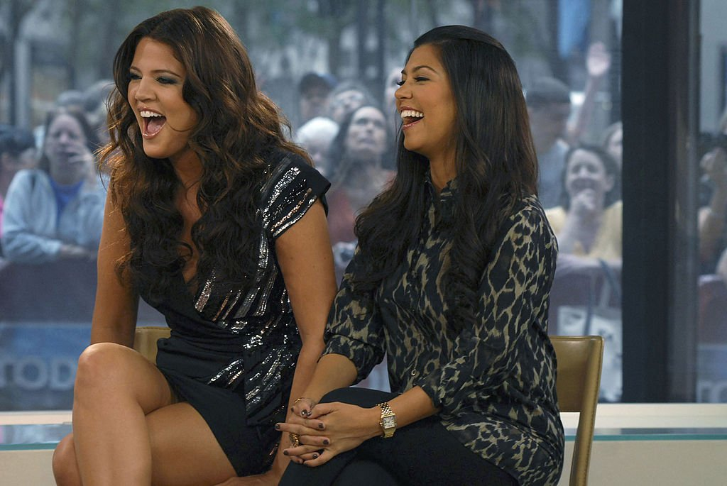 "Image Credit: Getty Images / Khloe Kardashian, Kourtney Kardashian -- Reality star Kourtney Kardashian visited NBC News' ""Today."""