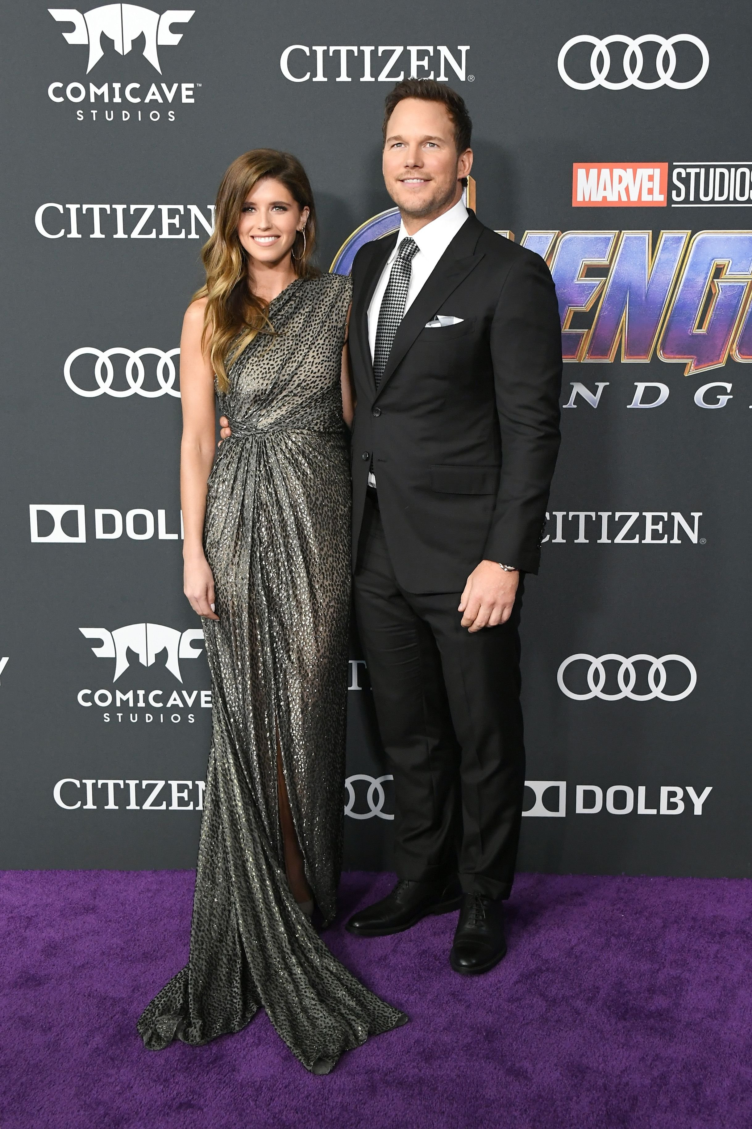 Chris Pratt and Katherine Schwarzenegger attending the Avengers: Endgame premiere/Photo:Getty Images