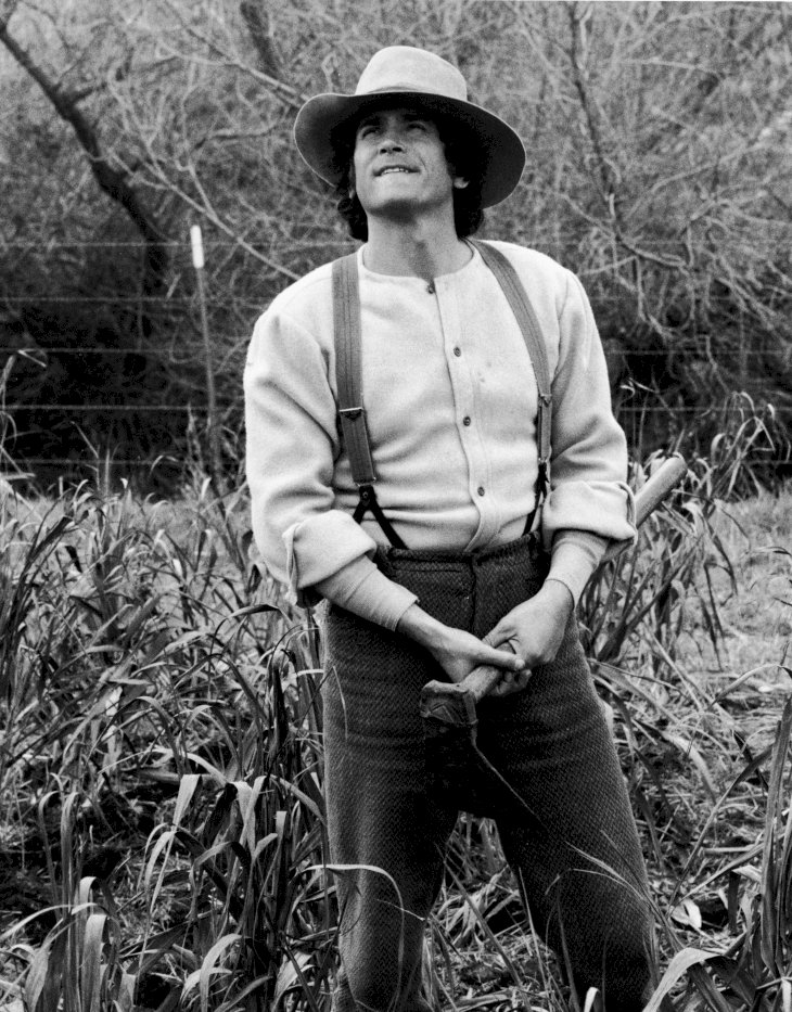 Image Credit: Getty Images/NBC Television |Michael Landon (1936 - 1991) stands in a field in a still from the television series, 'The Little House On The Prairie,' circa 1976.