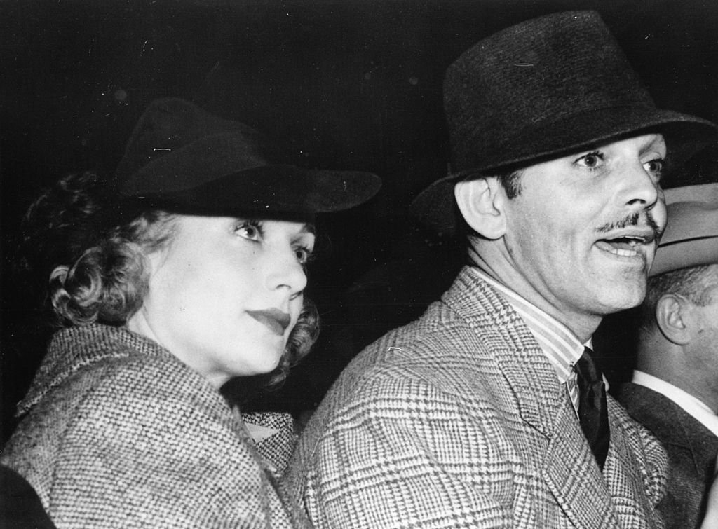 Image Credit: Getty Images / Clark Gable and wife Carol Lombard. 1936.