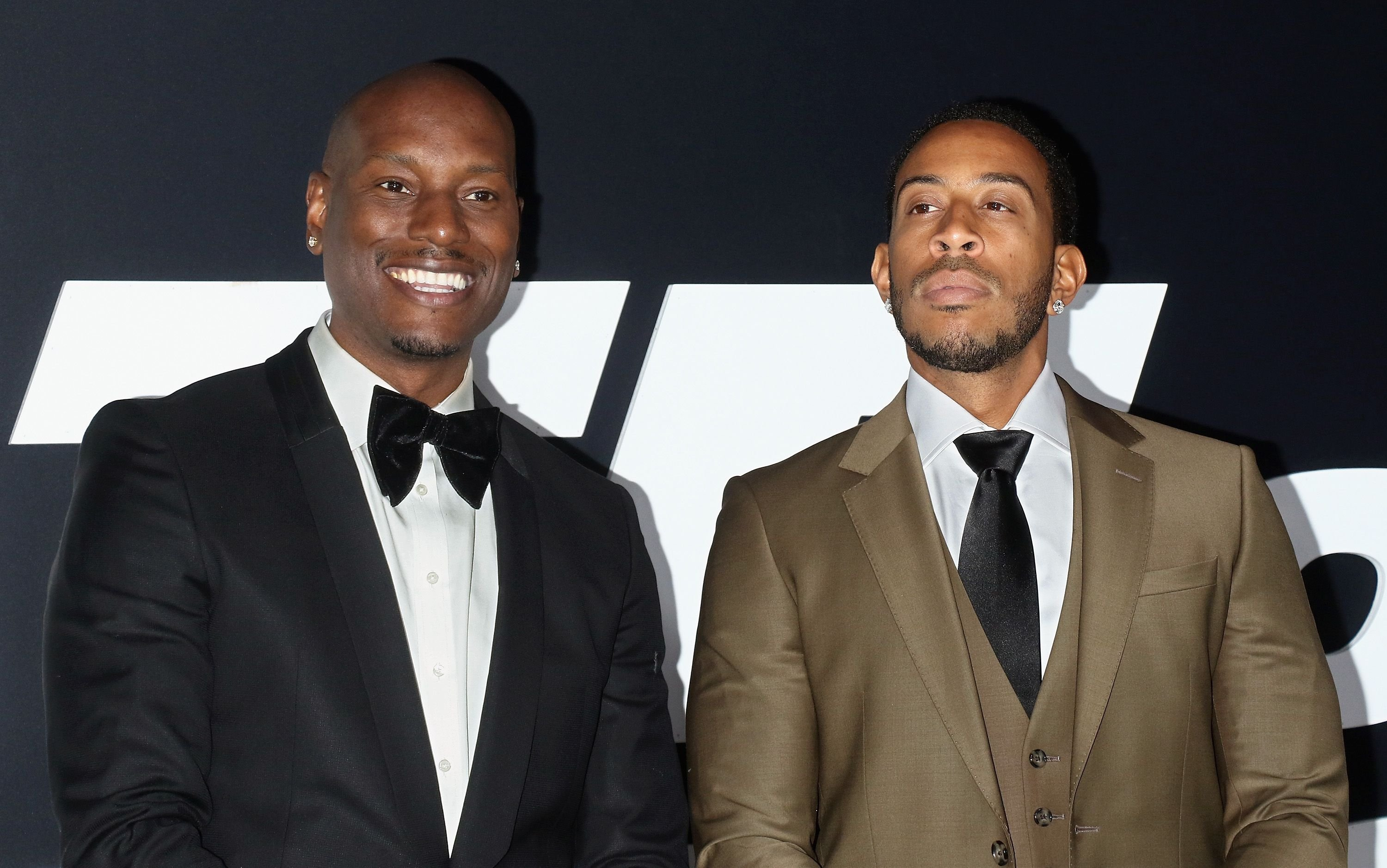 "Actors Tyrese Gibson and Ludacris attend ""The Fate Of The Furious"" New York premiere / Getty Images"