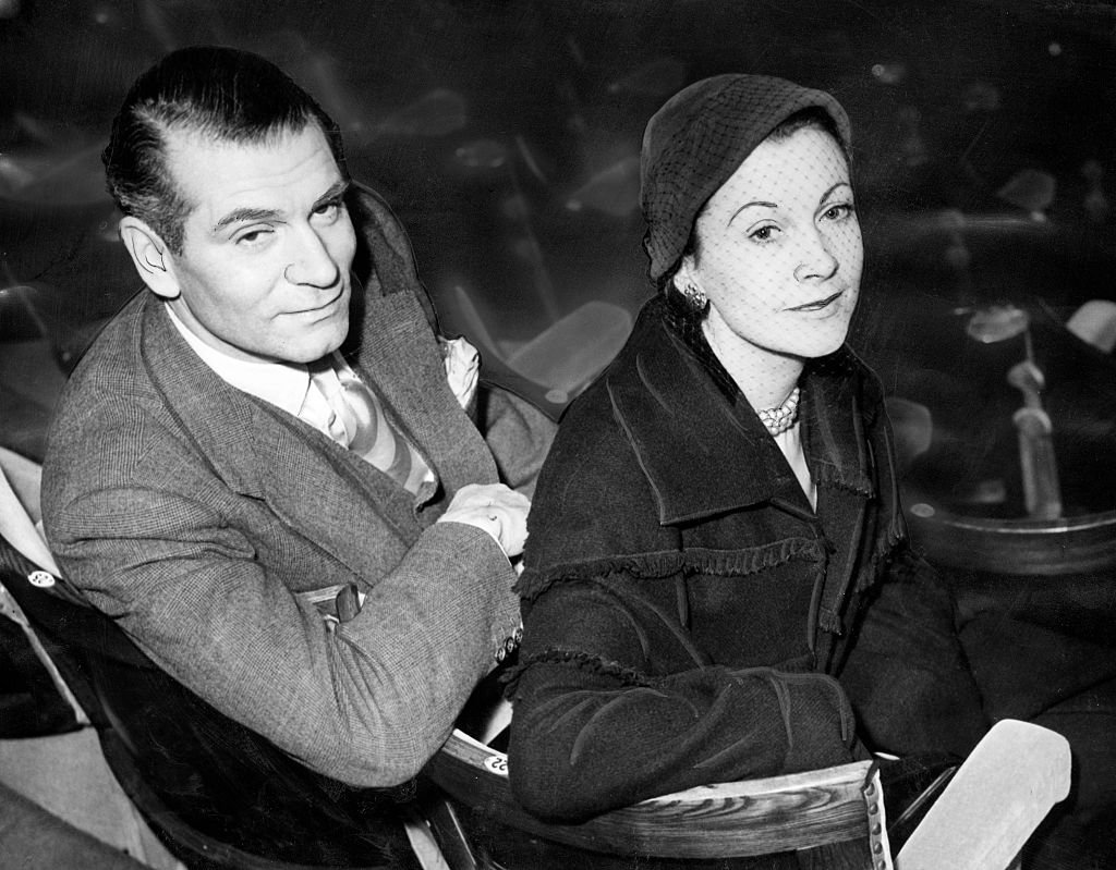 Image Credits: Getty Images / Daily Record/Mirrorpix/Mirrorpix | Leigh and Olivier in 1953