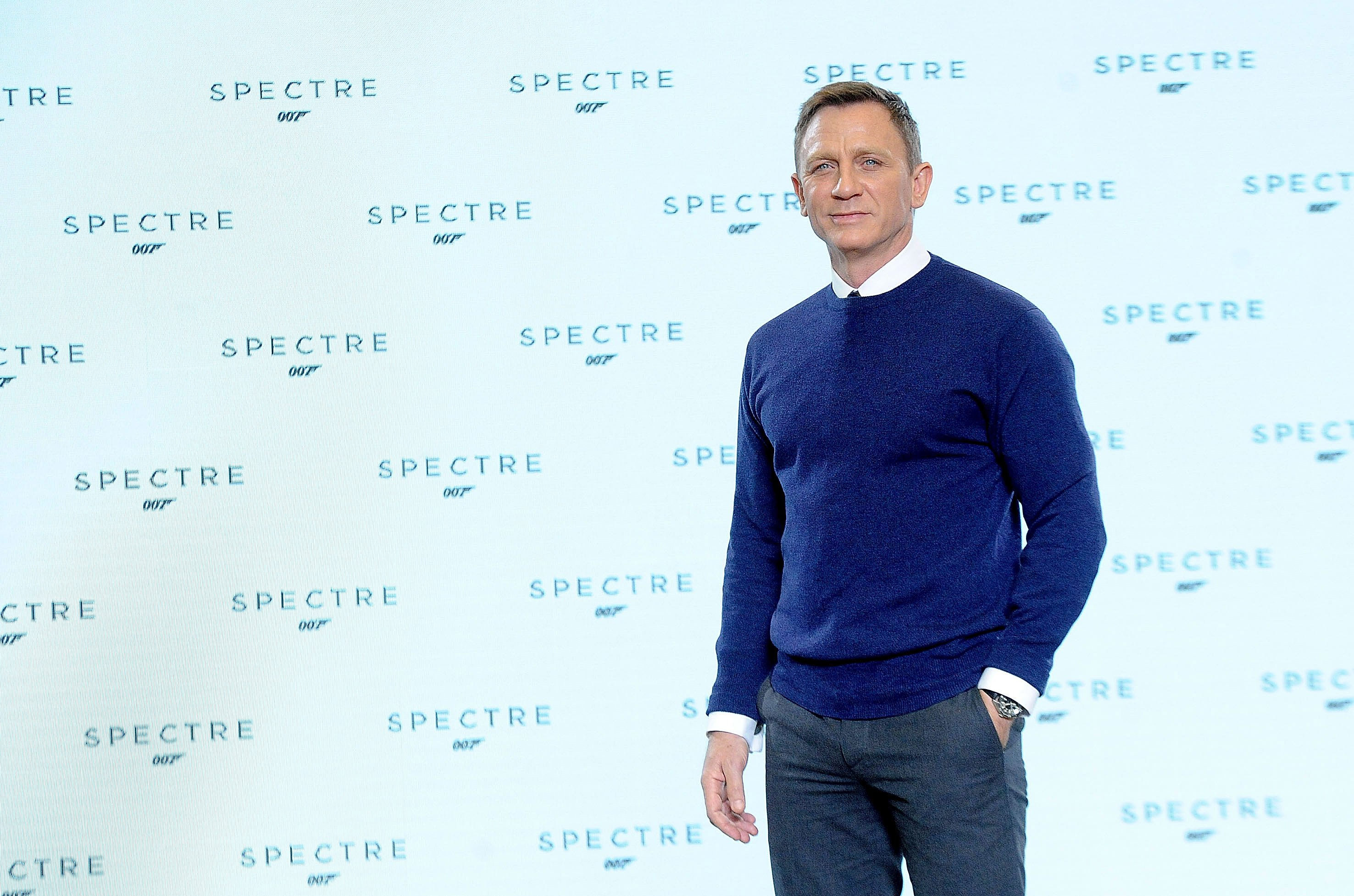 Image Source: Getty Images | Daniel at the Spectre event