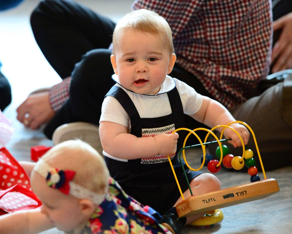 Image Credit: Getty Images / Prince George of Cambridge attends a Plunket Play Group at Government House on April 9, 2014 in Wellington, New Zealand.