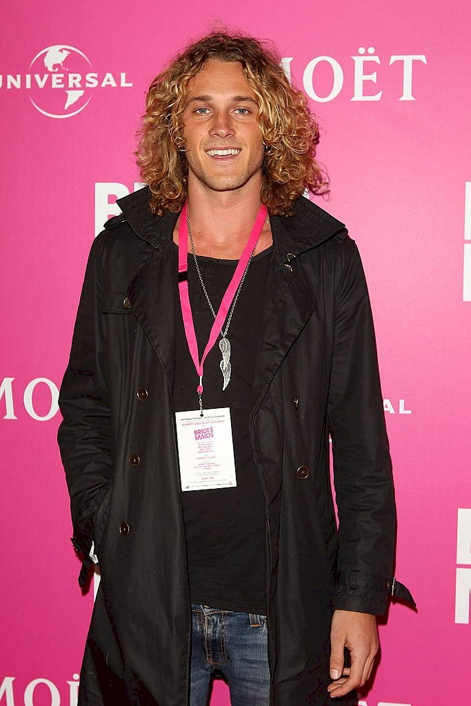 "Image Credits: Getty Images / Marianna Massey / WireImage | Tyler Atkins from ""The Amazing Race Australia"" arrives at ""Bridesmaids"" Celebrity Girls Night Out to celebrate the Australian premiere at Event Cinemas George Street on June 14, 2011 in Sydney, Australia."