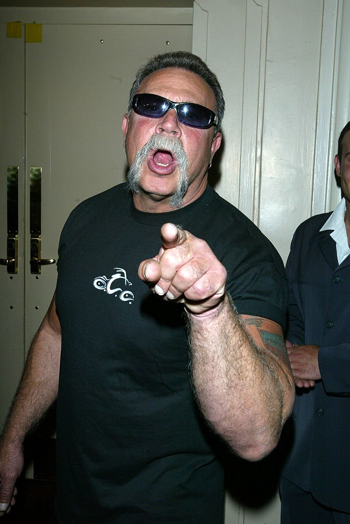 Image Credits: Getty Images / Matthew Peyton | Orange County Choppers dad Paul Teutul Sr. attends the 18th Annual Sports Legends Dinner to benefit The Buoniconti Fund to Cure Paralysis at the Waldorf Astoria Hotel September 30, 2003 in New York City.