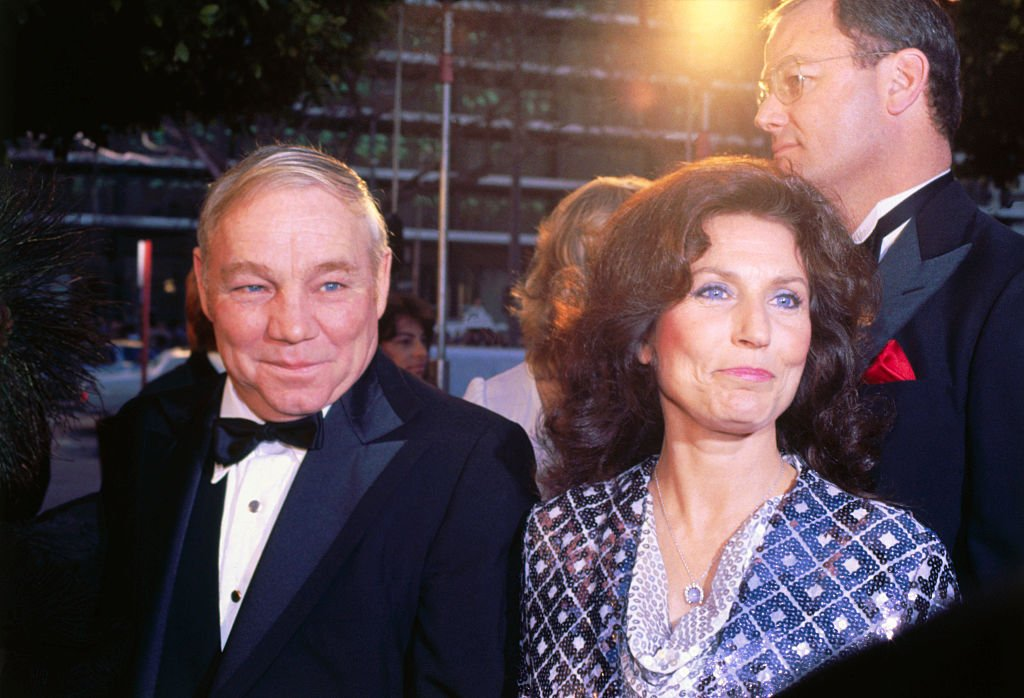 Image Credit: Getty Images / American country music singer and guitarist Loretta Lynn and her husband Oliver Lynn, Jr. (also known as Mooney).