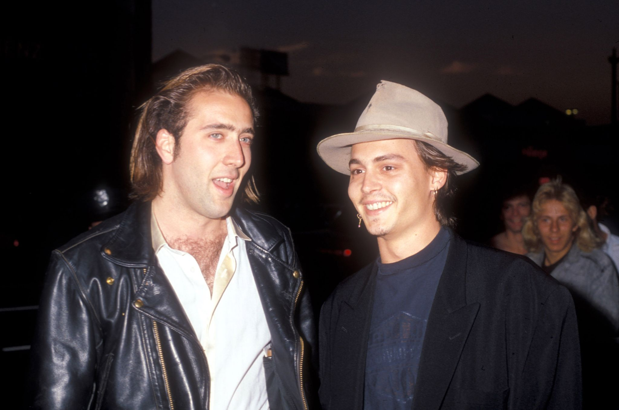 Nicolas Cage helped Johnny Depp's career / Getty Images