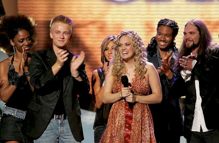 Image Credit: Getty Images/Kevin Winter | Underwood crowned the winner of American Idol Season 4