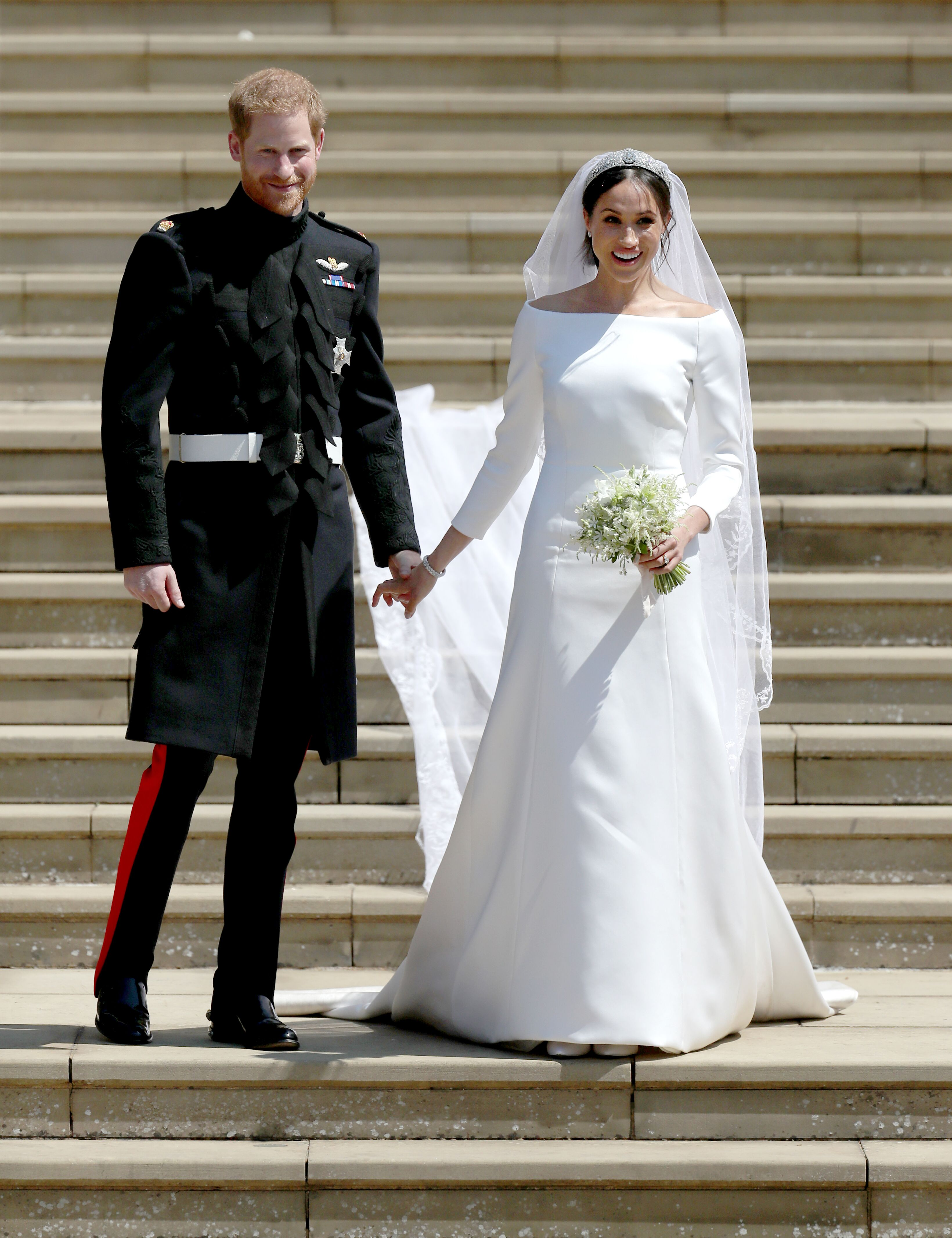 Prince Harry and Meghan Markle's Wedding / Getty Images