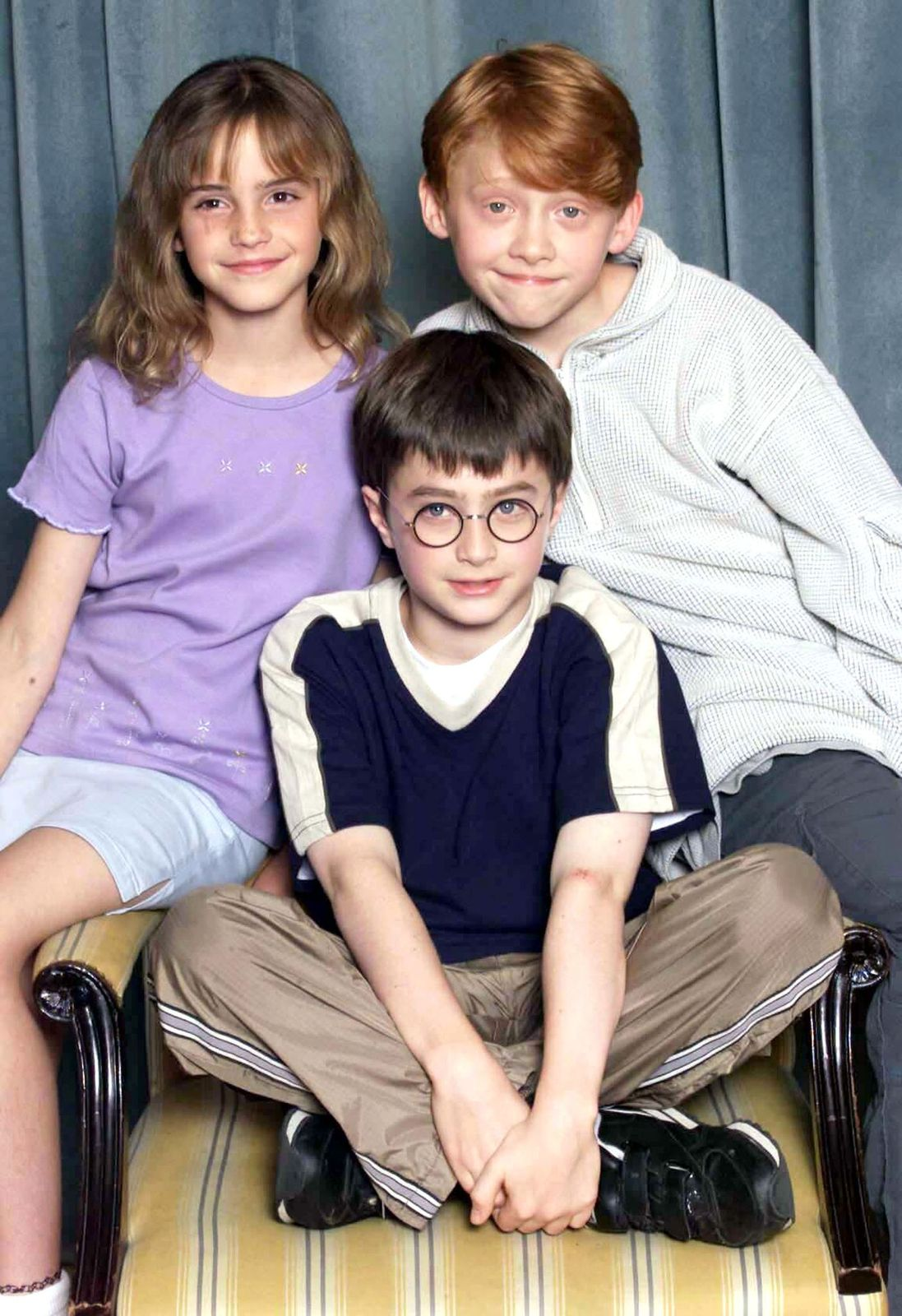 Emma Watson, Daniel Radcliffe and Rupert Grint/Photo:Getty Images
