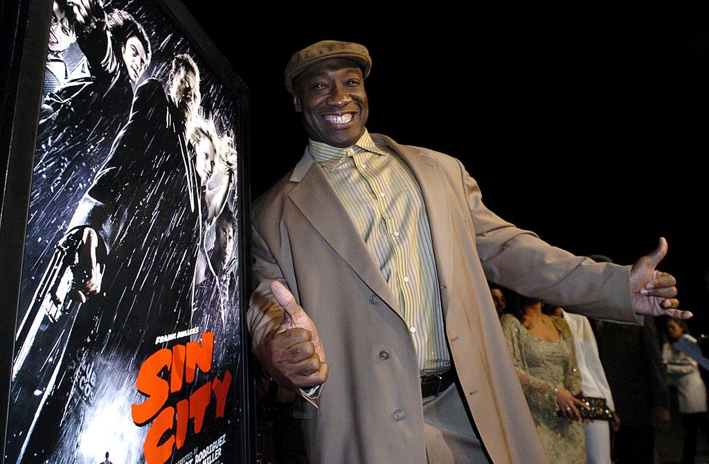 "Image Credit: Getty Images / Michael Clarke Duncan during ""Sin City"" Los Angeles Premiere - Red Carpet at Mann National Theater in Los Angeles, California, United States."
