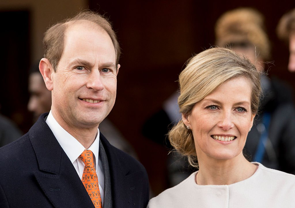 Image Credit: Getty Images / Prince Edward, Earl of Wessex and Sophie, Countess of Wessex during a visit to St Anselms Church on the occasion of the Countess' 50th birthday on January 20, 2015 in London, England.