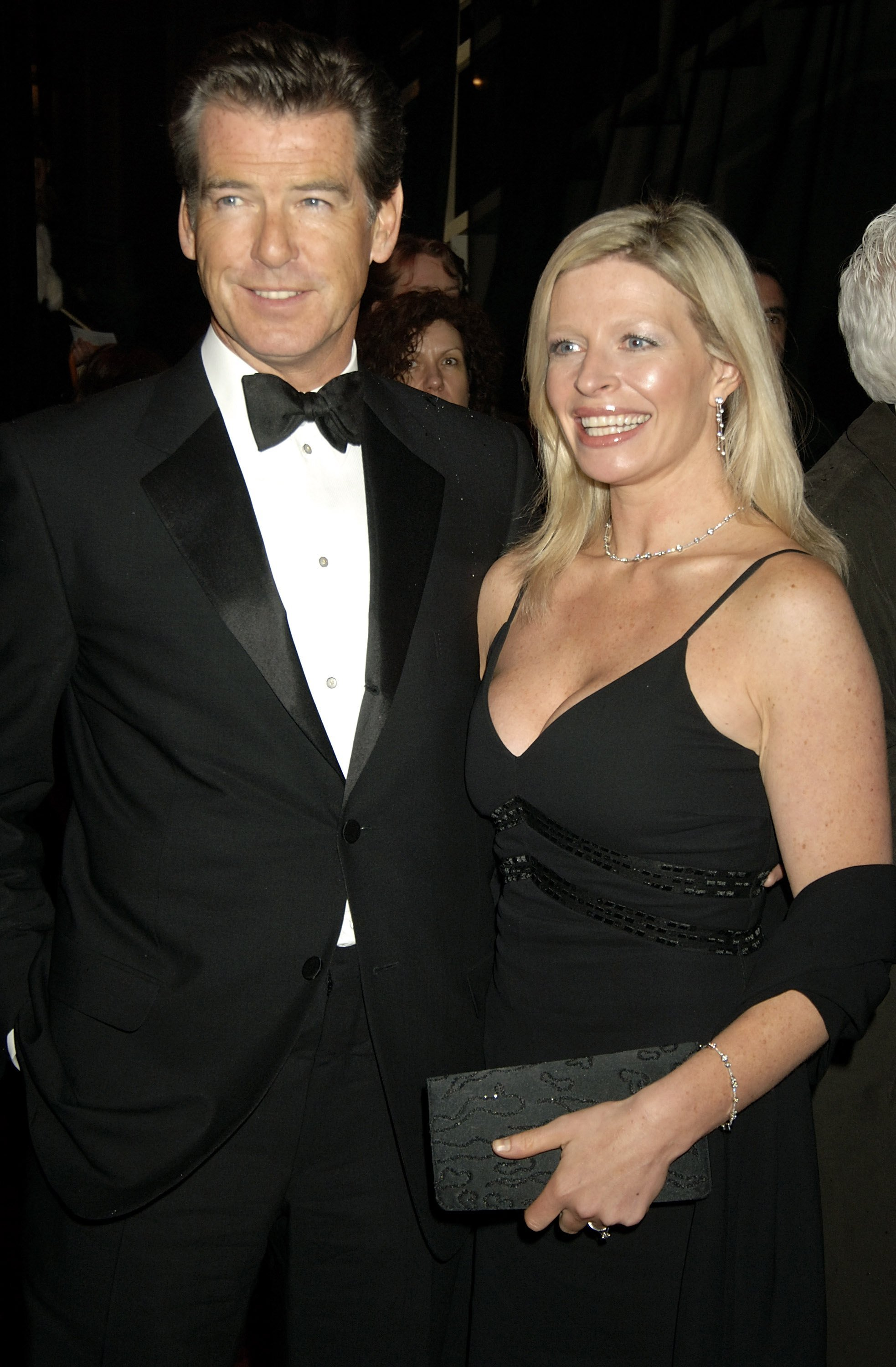 Image Source: Getty Images/Dave M. Benett | Pierce and Charlotte at the BAFTA after show in 2006