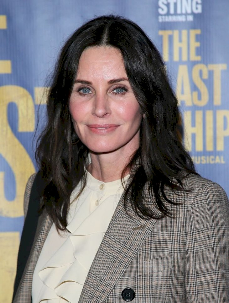 Image Credits: Getty Images / Jean Baptiste Lacroix | Courteney Cox in January 2020.