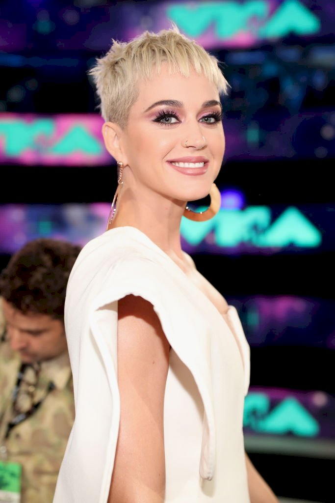 Image Credits: Getty Images / Christopher Polk | Host Katy Perry attends the 2017 MTV Video Music Awards at The Forum on August 27, 2017 in Inglewood, California.