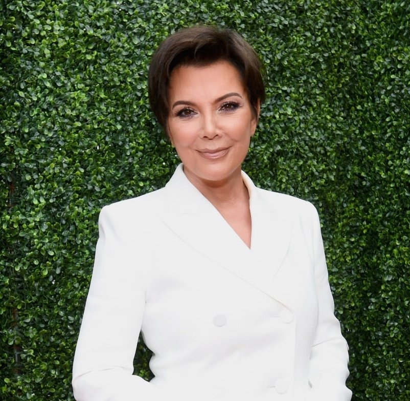 Image Credit: Getty Images/Kris Jenner smiling for the camera