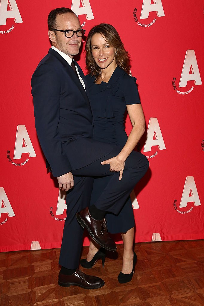 Image Credits: Getty Images / Astrid Stawiarz | Clark Gregg and Jennifer Grey attend the Atlantic Theater Company 30th Anniversary Gala at The Pierre Hotel on March 2, 2015 in New York City.