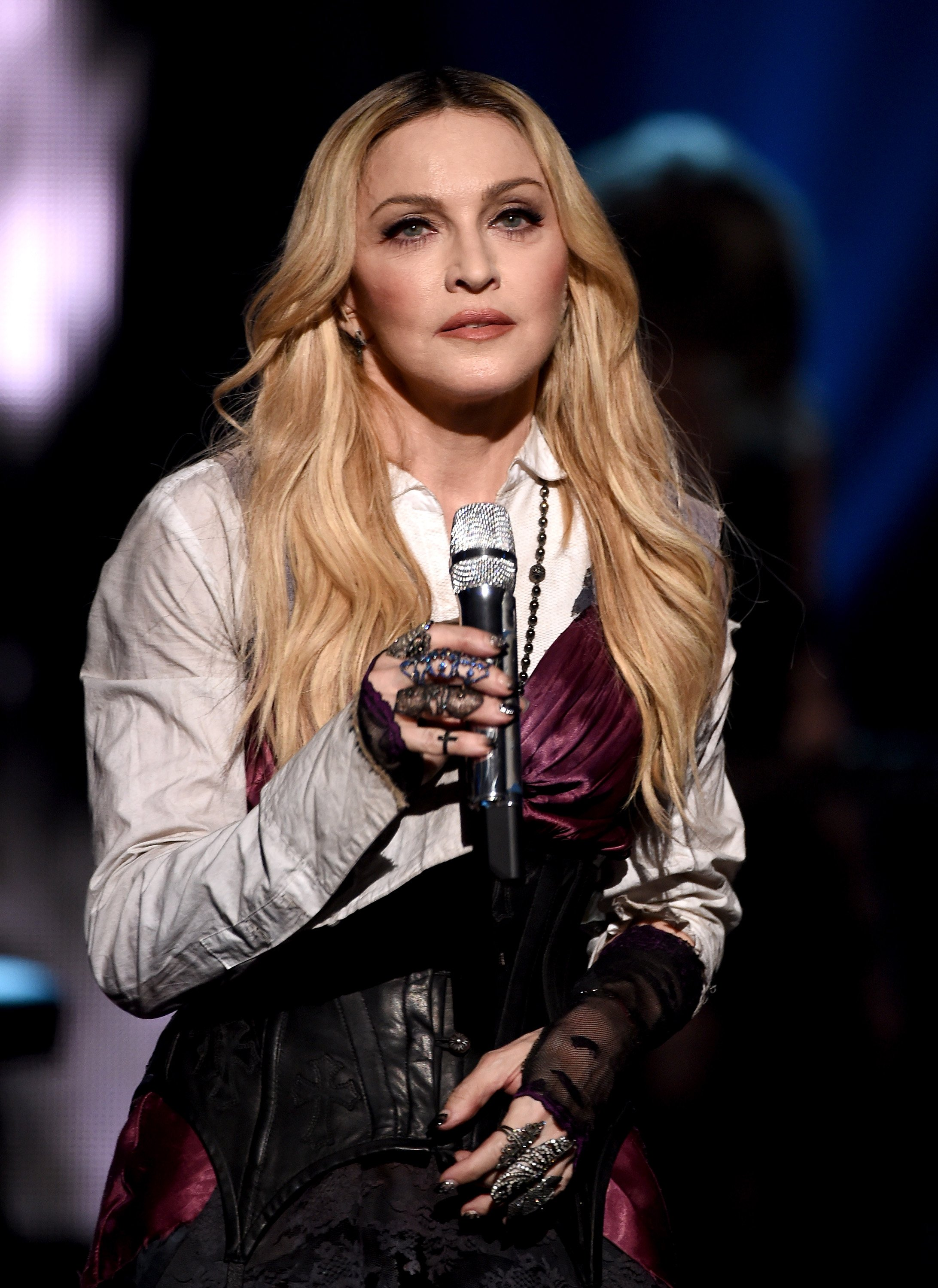 Image Credits: Getty Images / Kevin Winter | Singer Madonna performs 'Ghost Town' onstage during the 2015 iHeartRadio Music Awards which broadcasted live on NBC from The Shrine Auditorium on March 29, 2015 in Los Angeles, California.