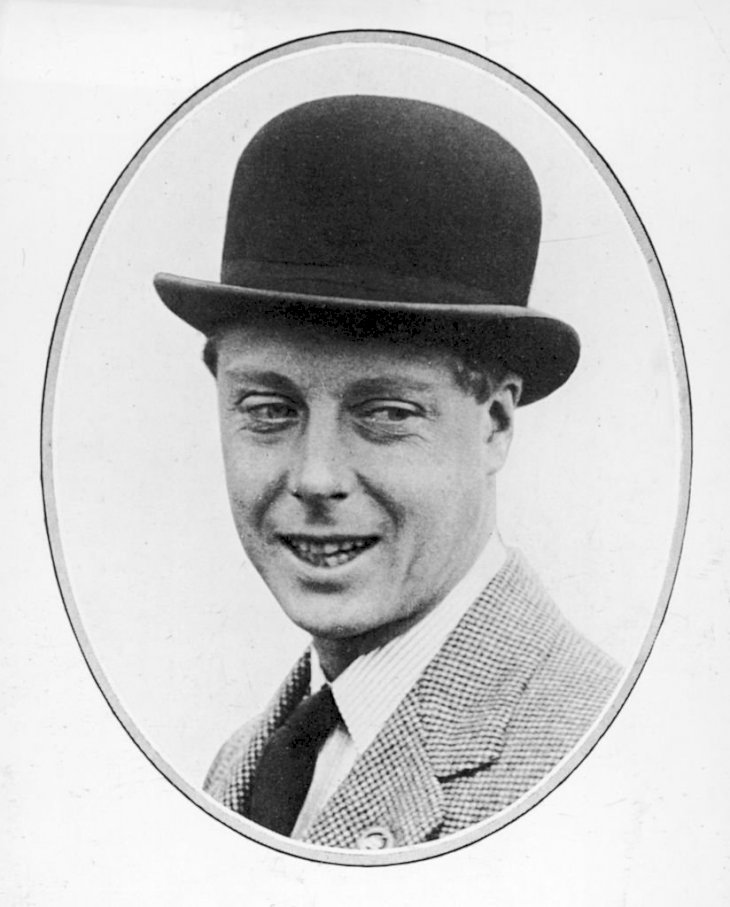 Image Credits: Getty Images / Mansell / The LIFE Picture Collection | Portrait of His Royal Highness The Prince of Wales (1894 - 1974) (later King Edward VIII and Duke of Windsor) dressed in a bowler hat and a houndstooth jacket, 1927.