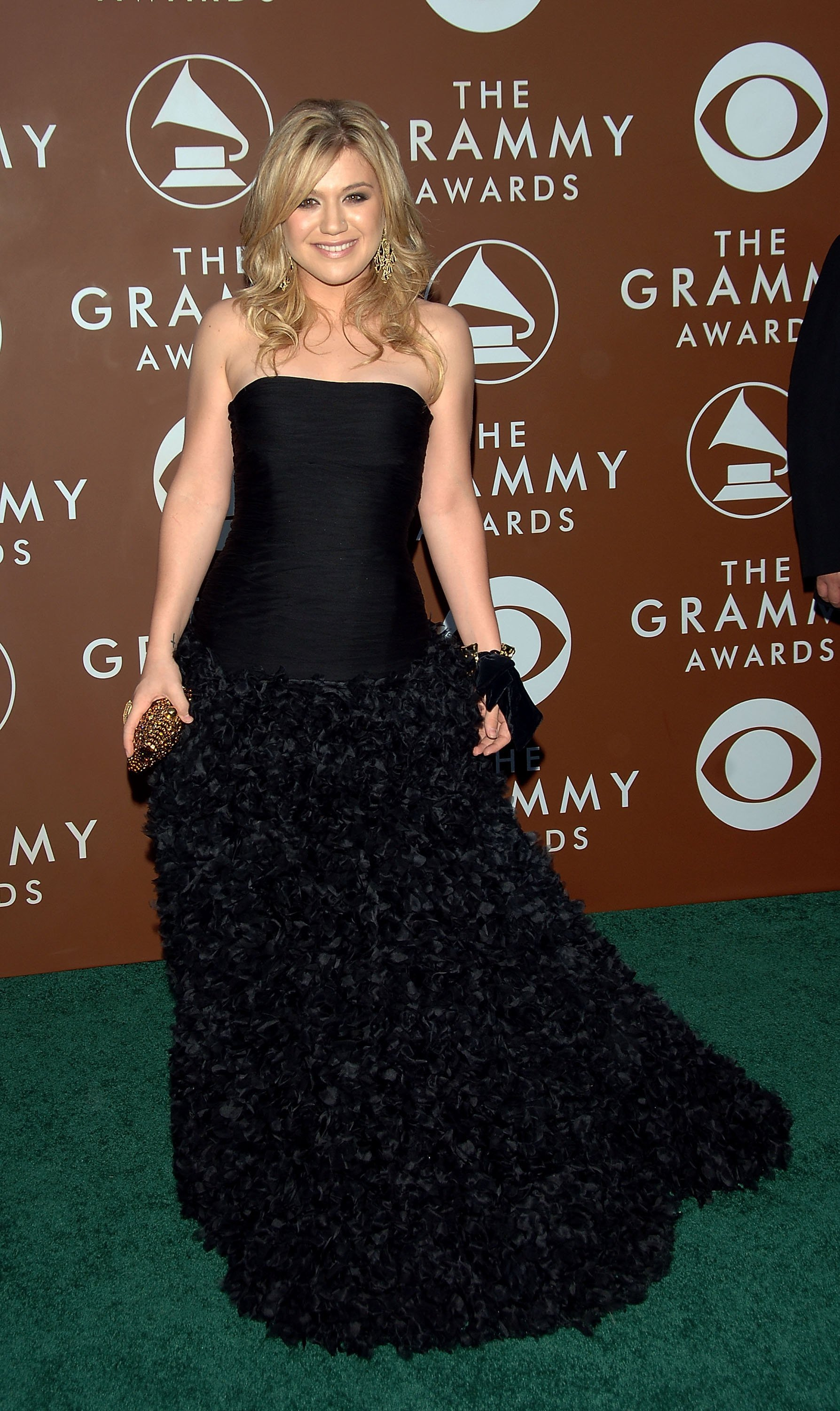 Image Source: Getty Images/Kelly at The Grammy's