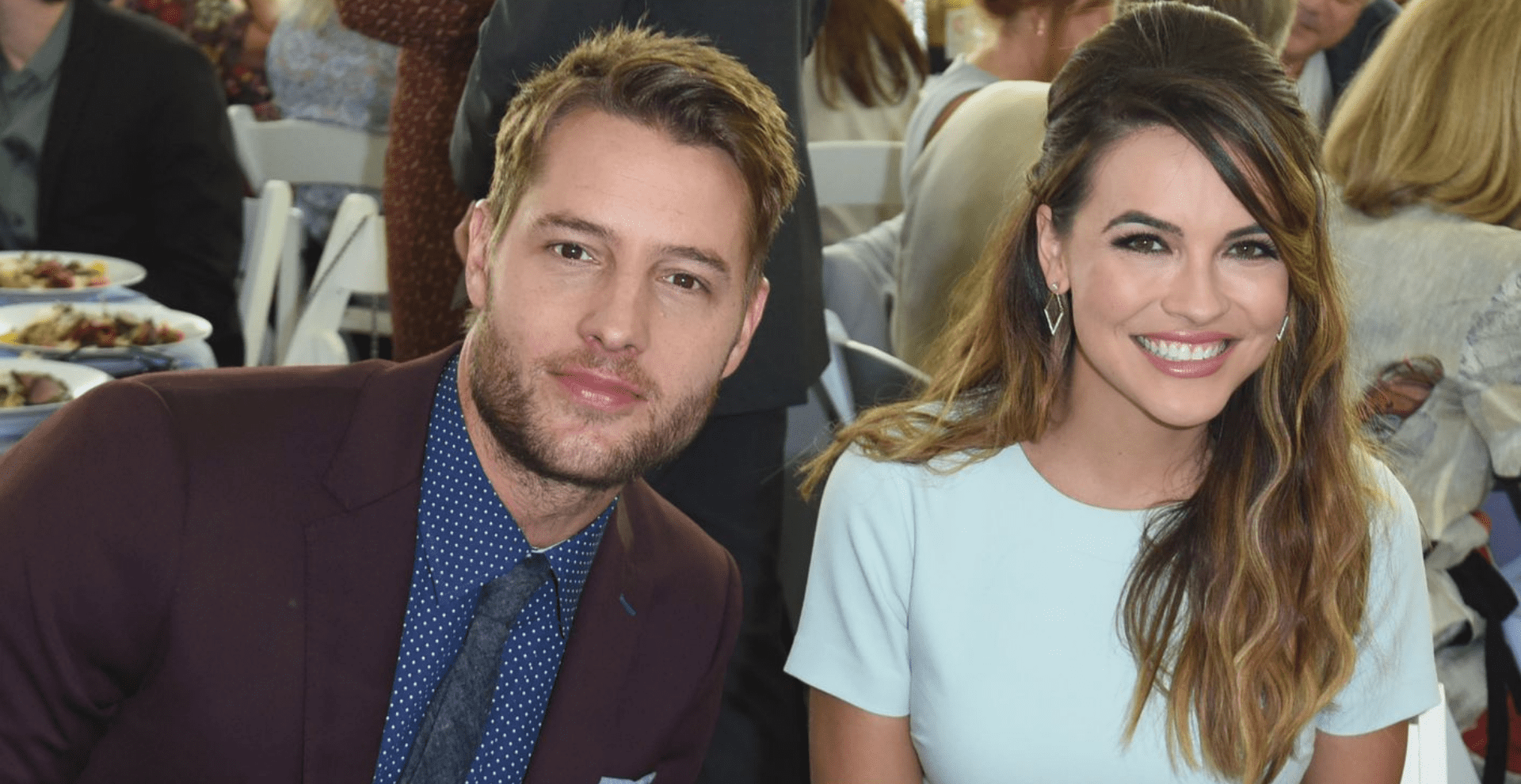 Justin Hartley and Chrishell Stause/Photo:Getty Images