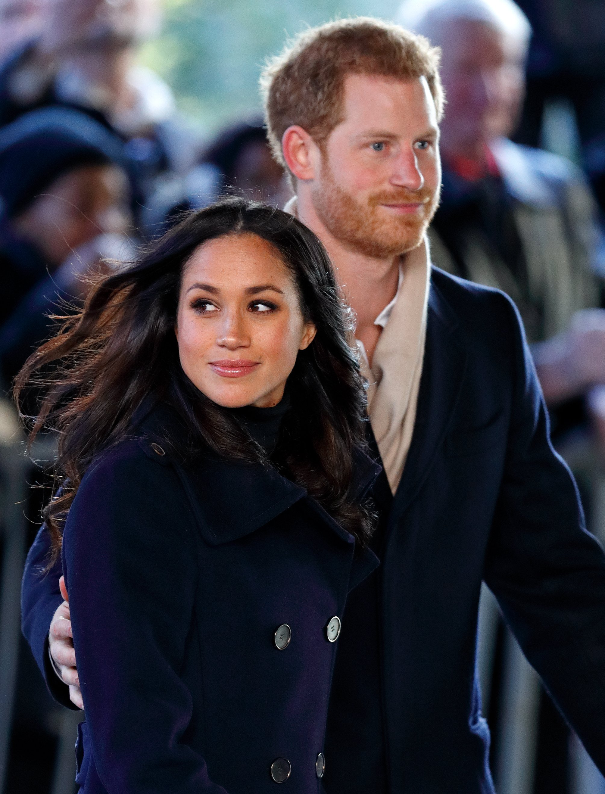 Image Credits: Getty Images / Max Mumby / Indigo   Meghan Markle and Prince Harry attend a Terrence Higgins Trust World AIDS Day charity fair at Nottingham Contemporary on December 1, 2017 in Nottingham, England. Prince Harry and Meghan Markle announced their engagement on Monday 27th November 2017 and will marry at St George's Chapel, Windsor in May 2018.