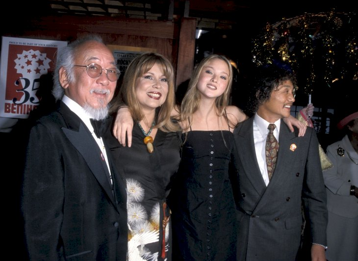 Pat Morita with his family / Photo:Getty Images