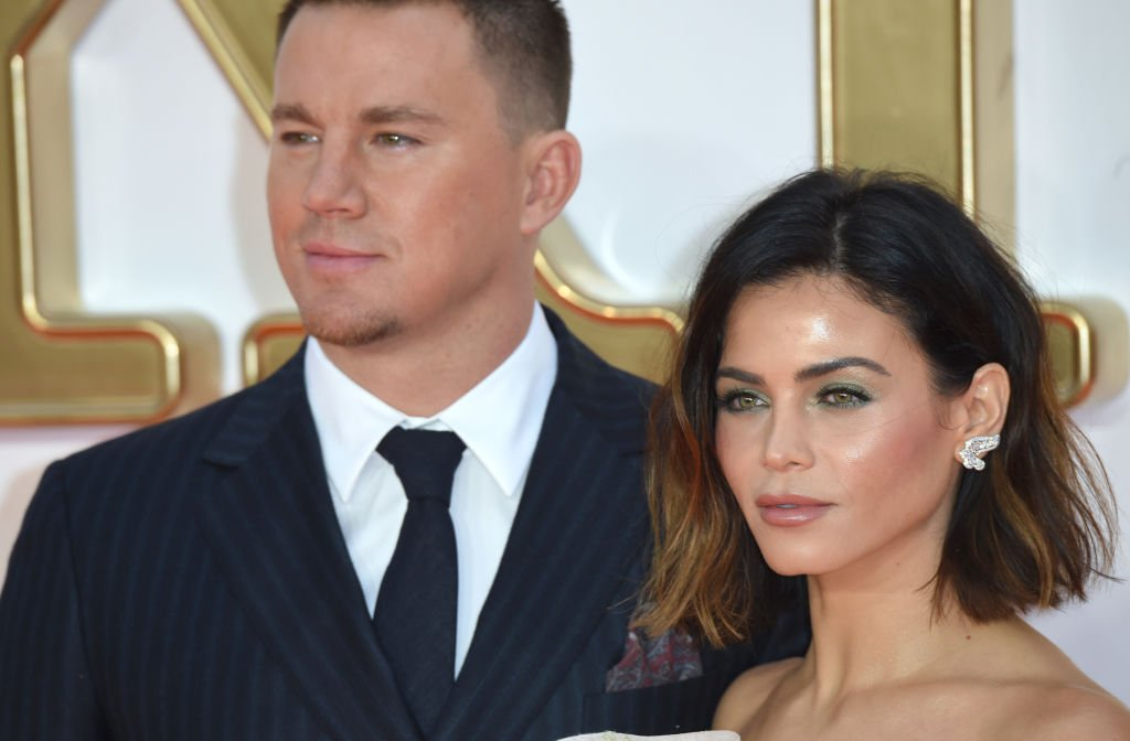 Image Source: Getty Images/Anthony Harvey/Channing Tatum and Jenna Dewan attend the 'Kingsman: The Golden Circle' World Premiere held at Odeon Leicester Square on September 18, 2017