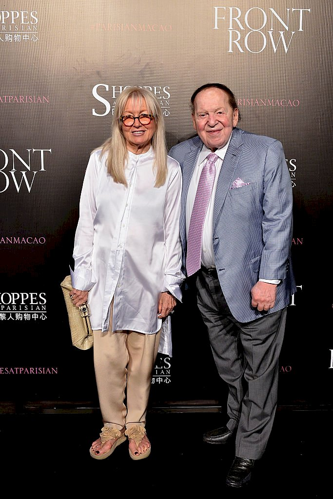 Image Credits: Getty Images / Keith Tsuji | Sheldon Adelson (R) and wife Miriam Adelson.