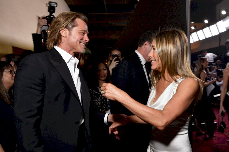 Image Credit: Getty Images/Getty Images for Turner/Emma McIntyre |Brad Pitt and Jennifer Aniston attend the 26th Annual Screen Actors Guild Awards
