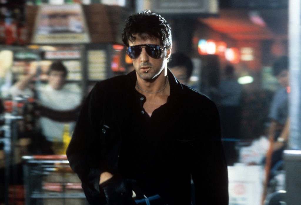 Image Source: Getty Images/Warner Brothers | Still of Stallone in Cobra