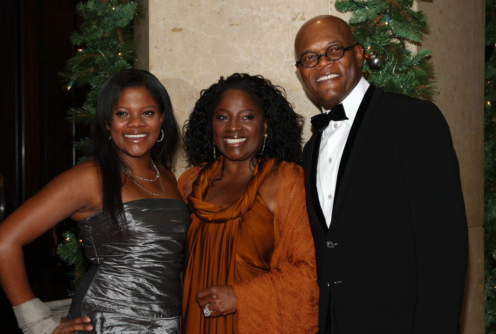 Zoe Jackson, LaTanya Richardson and Samuel L. Jackson/Photo:Getty Images