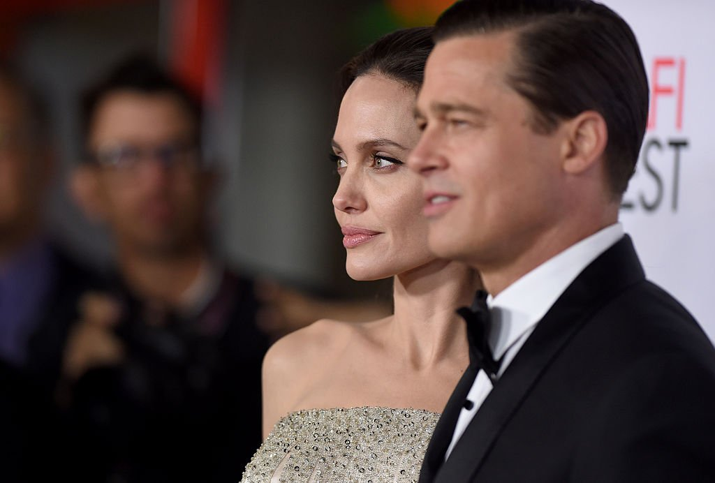 Image Credit: Getty Images / Actors Angelina Jolie and Brad Pitt arrive at the AFI FEST 2015 on November 5, 2015 in Hollywood, California.