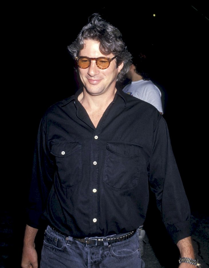 Actor Richard Gere attends Madonna in Concert - Who's That Girl World Tour on July 13, 1987 at Madison Square Garden in New York City. (Photo by Ron Galella, Ltd./Ron Galella Collection via Getty Images)