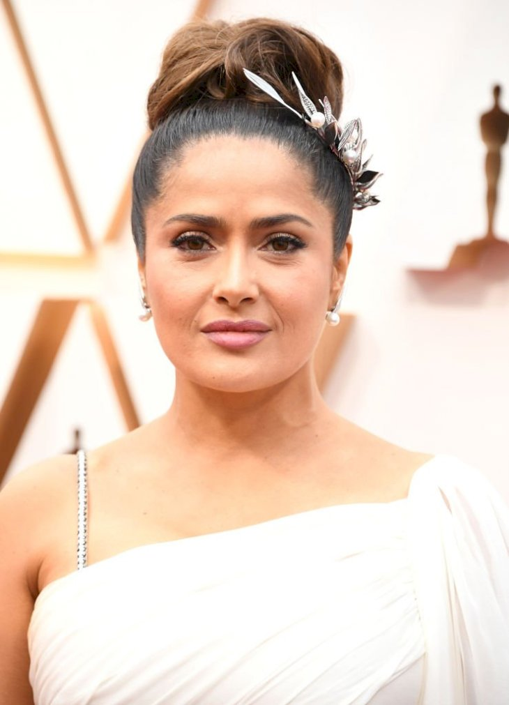Image Credits: Getty Images / Steve Granitz/WireImage | Salma Hayek in February 2020.