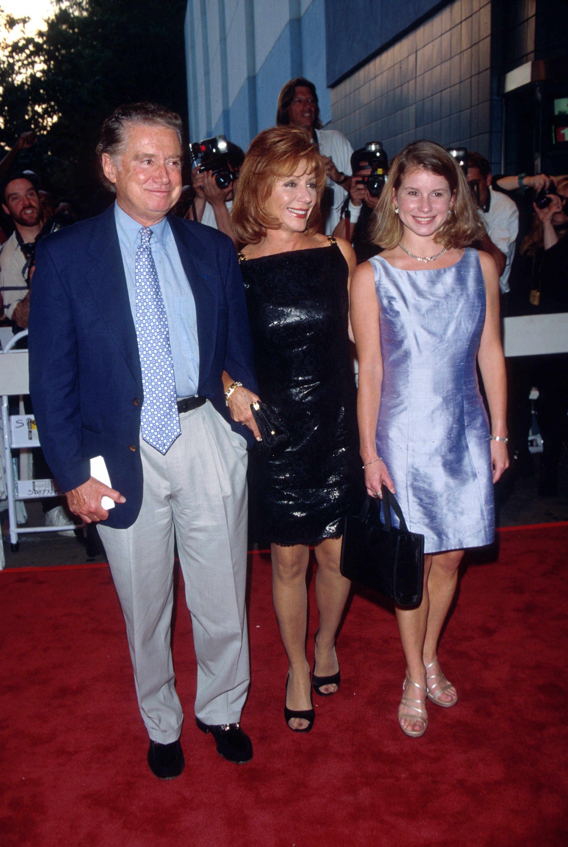 Image Credits: Getty Images | Regis and wife Joy were partners in crime