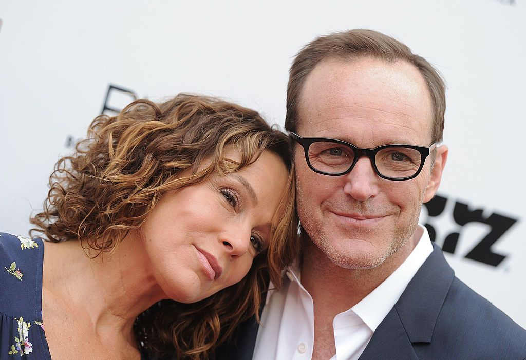 Jennifer Grey and Clark Gregg at the Los Angeles premiere of 'Trust Me' in 2014 in Hollywood | Source: Getty Images