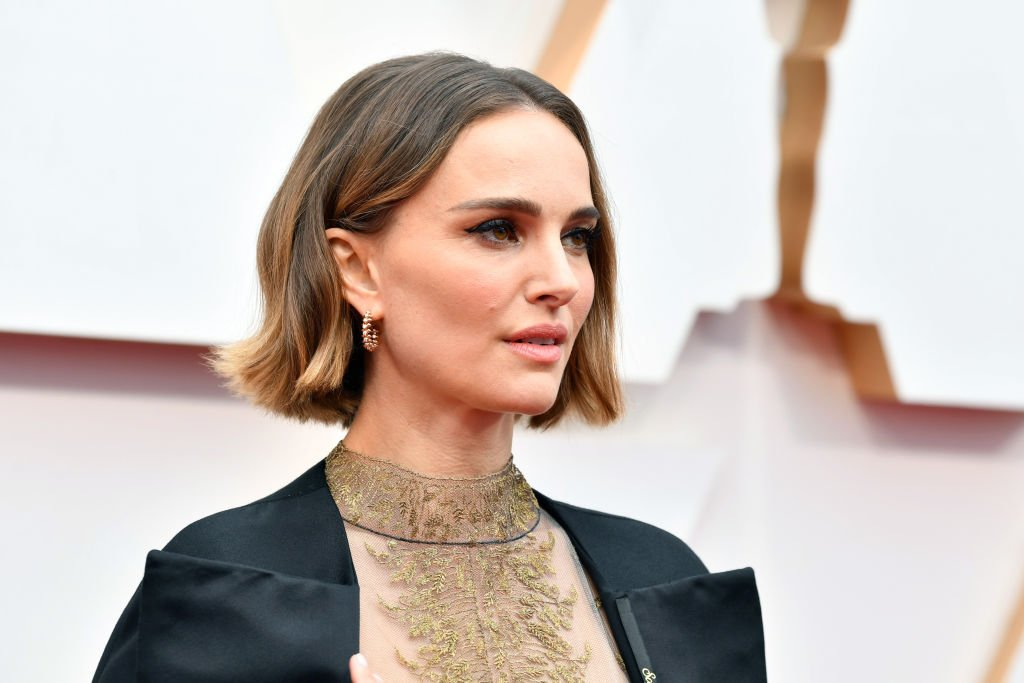 Image Credit: Getty Images / Natalie Portman attends the 92nd Annual Academy Awards at Hollywood and Highland on February 09, 2020.