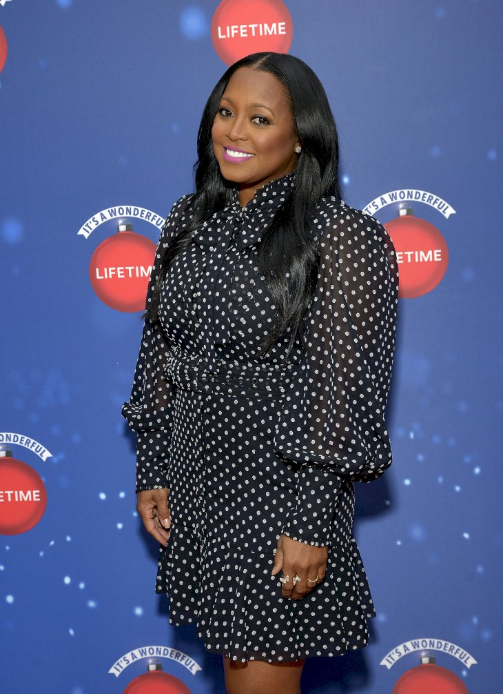 "Image Credit: Getty Images/Michael Tullberg |  Keshia Knight Pulliam attends Say ""Santa!"" with It's A Wonderful Lifetime photo experience at Glendale Galleria 2019"