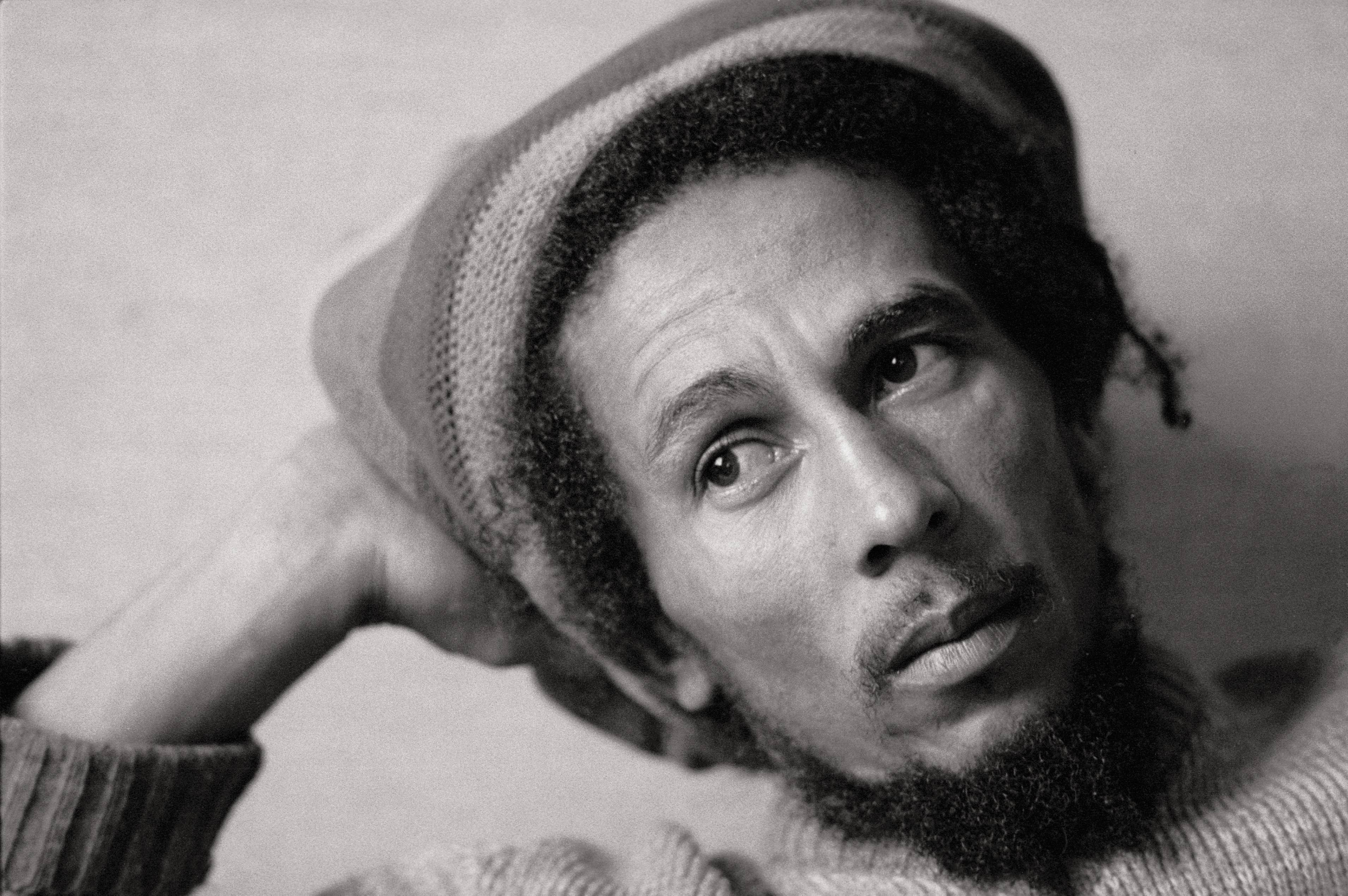 Image Source: Getty Images/Portrait of Bob Marley