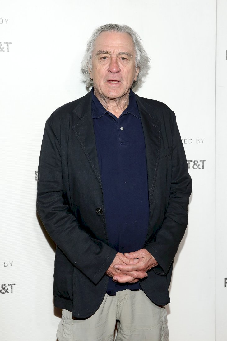 "Image Credits: Getty Images / Monica Schipper | Robert De Niro attends the ""It Takes A Lunatic"" world premiere during the 2019 Tribeca Film Festival at BMCC Tribeca PAC on May 03, 2019 in New York City."