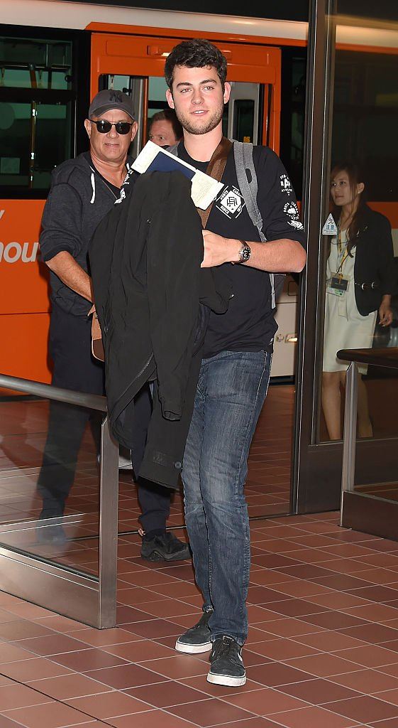 Image Credits: Getty Images / Jun Sato / GC Images | Truman Hanks is seen upon arrival at Haneda Airport on September 14, 2016 in Tokyo, Japan.