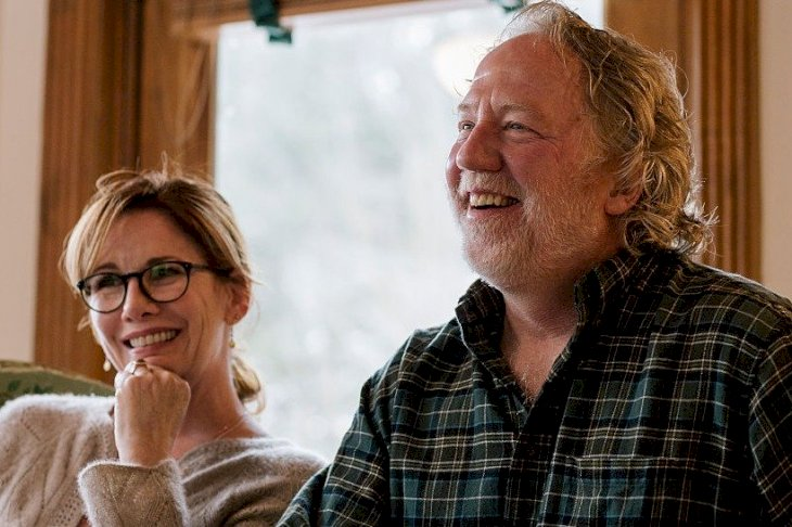 Image Credit: Getty Images/Nick Hagen for The Washington Post via Getty Images | Melissa Gilbert sits for a portrait at her home in Brighton, Michigan with her husband Timothy Busfield.