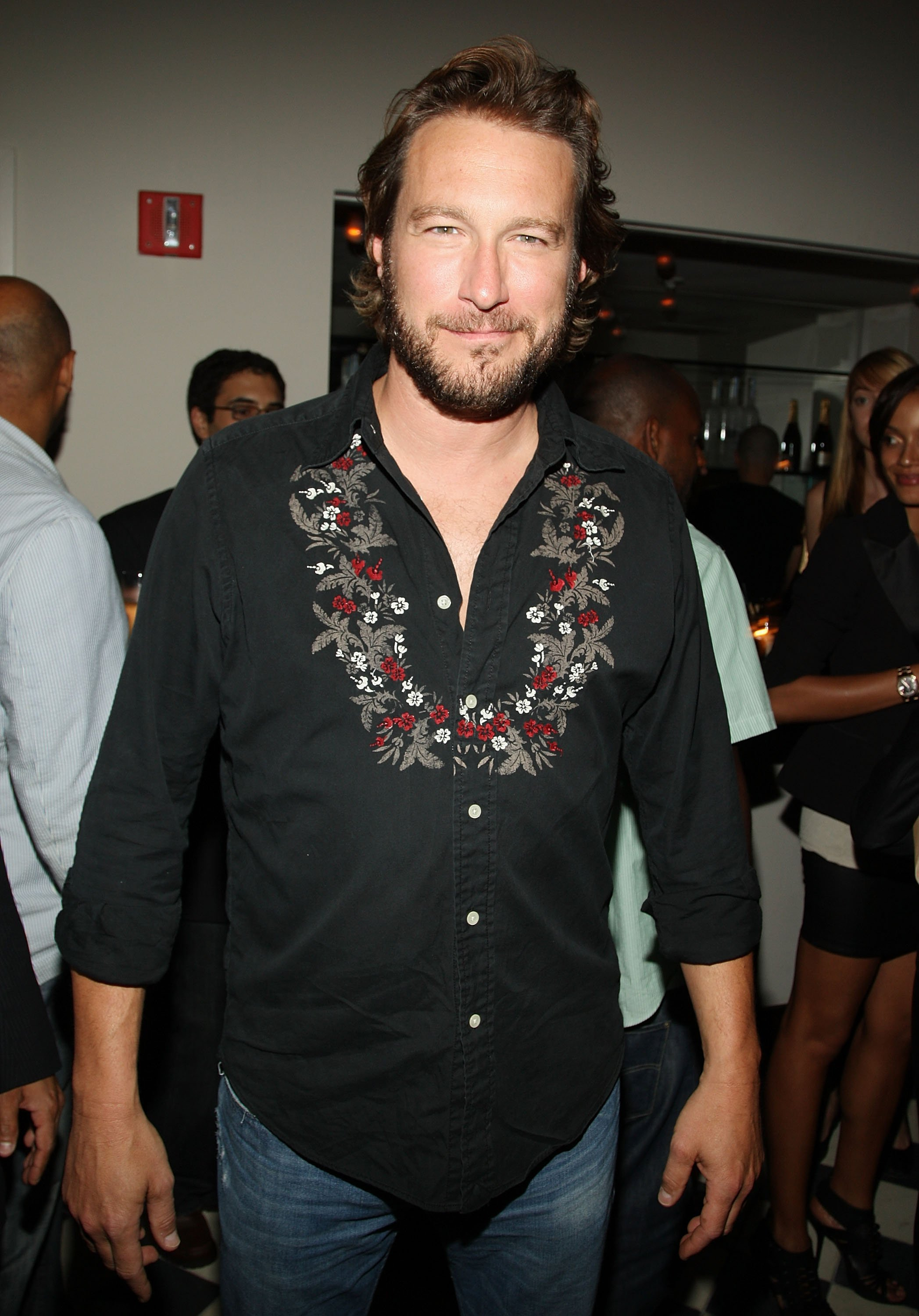 Image Credits: Getty Images / The award winning actor, John Corbett smile for a photo.