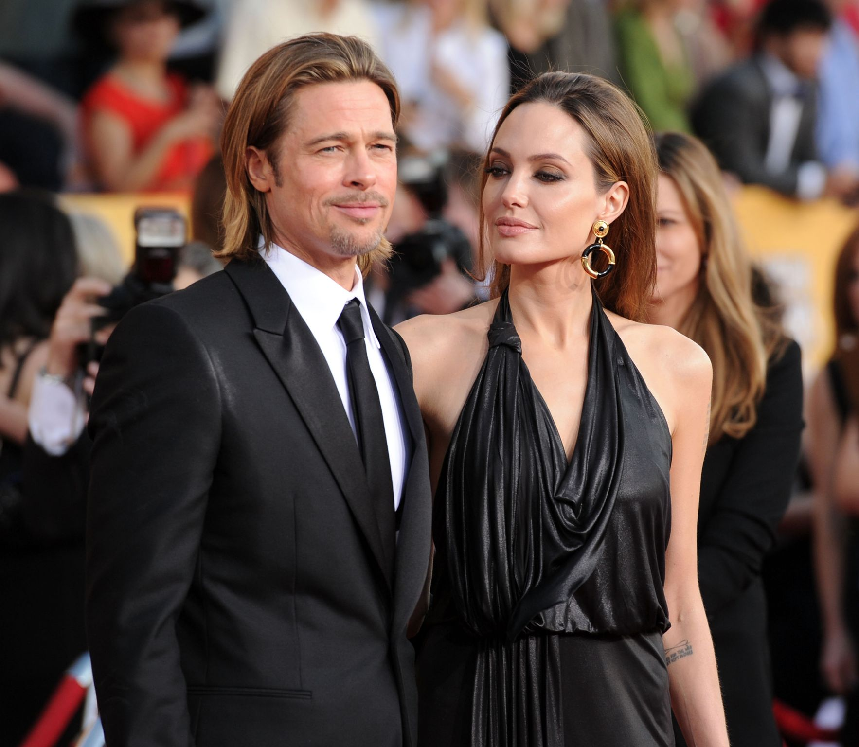 Brad's relationship with Angelina Jolie has been the longest one he's had so far / Getty Images